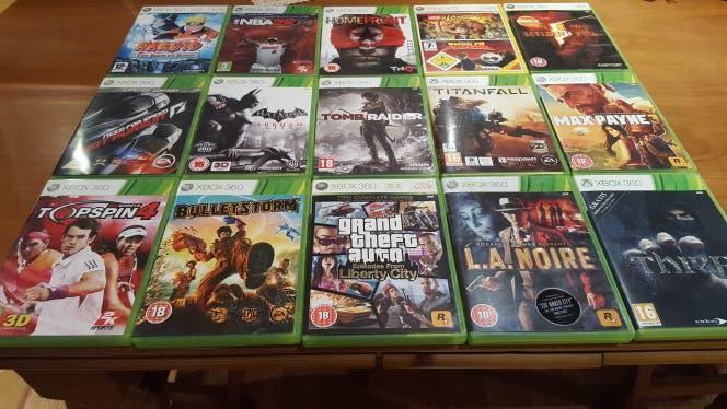 Pack de 27 juegos xbox 360