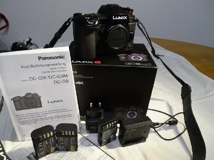 Panasonic lumix dc-g9 cuerpo