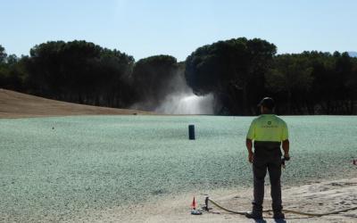 Personal para construcción campo de golf