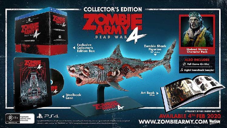 Precintada! zombie army 4 coleccionista pal esp ps