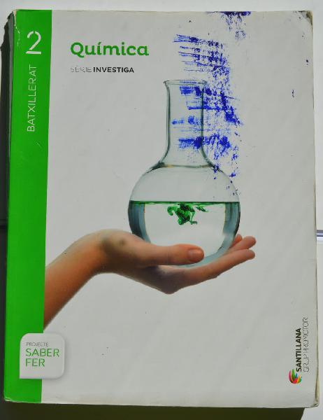 Química serie investiga 2 bto saber hacer