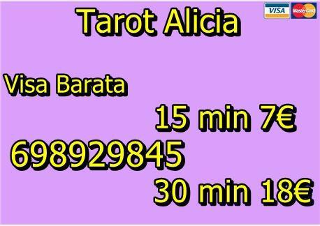 Tarot visa economica 7€ x 15 min 698929845 sin gabinete