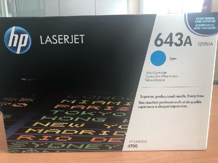 Toner hp laserjet original 643a