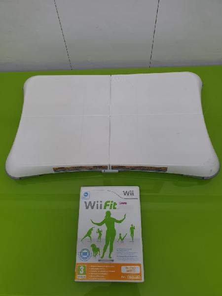 Wii fit + balance board (tabla de equilibrio)
