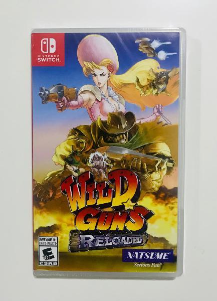 Wild guns - nuevo switch