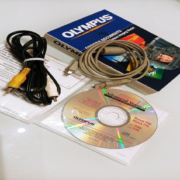 Cables cámara olympus stylus 700/710