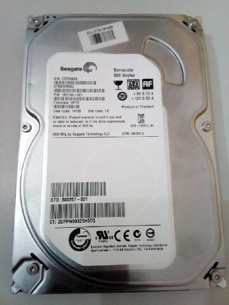 Disco duro sata 500 gb 3.5 para torre ordenador pc