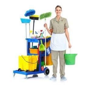Mujer de limpieza