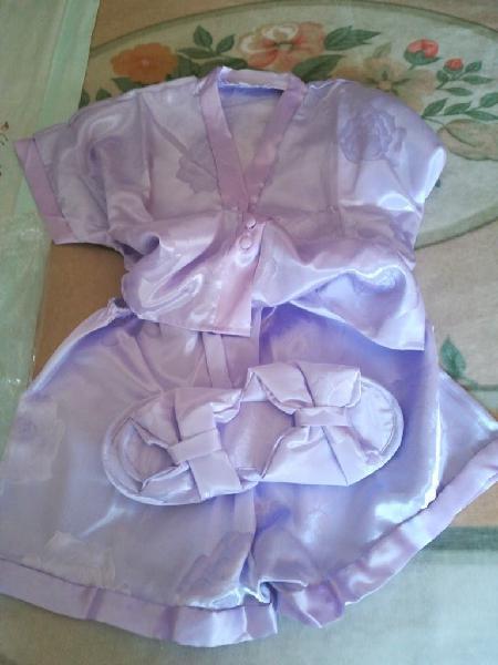 Pijama raso verano chica talla38