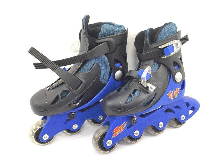 10 % patines otros rayo azul negro