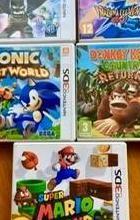 5 juegos nintendo 3ds originales