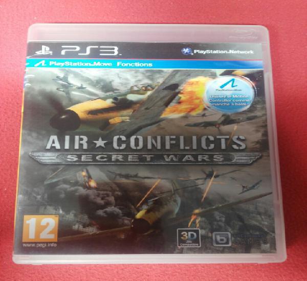 Air coflicts secret wars