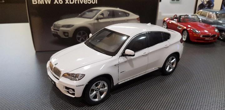 Bmw x6 xdrive 50i -e70- kyosho 1/18 white ref 08761w