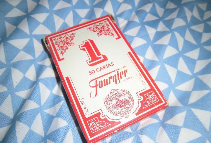 Baraja de cartas de fournier nº 1. 50 cartas (baraja