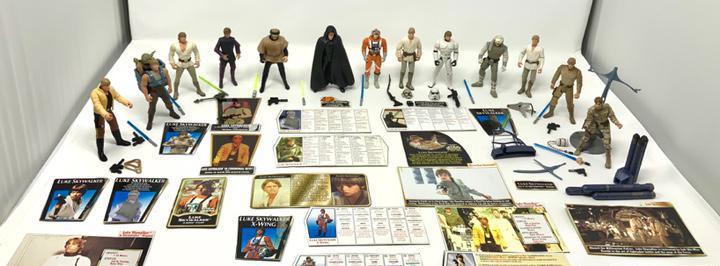 Colección star wars, figuras+fichas+extras