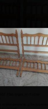 Cabecero piecero cama 90