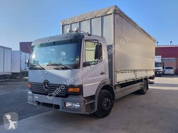 Camión mercedes lonas deslizantes atego 1223 4x2 diesel