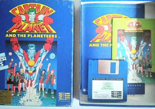 Captain planet and the planeteers commodore amiga