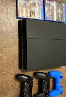 Consola ps4 playstation 4 2 mandos y 3 juegos