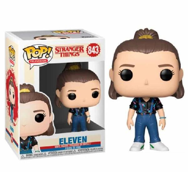 Figura funko pop eleven 843 stranger things 3ª temporada