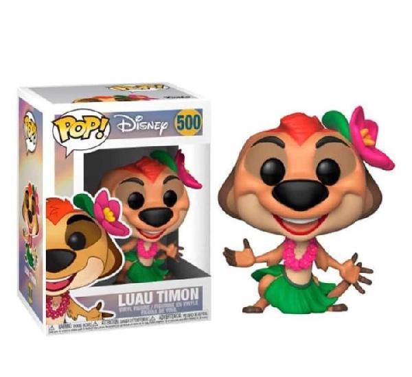Figura funko pop el rey león disney luau timon 500