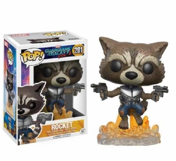 Figura funko pop rocket 201 guardianes de la galaxia vol. 2