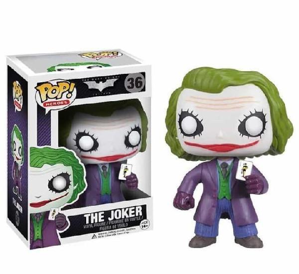 Figura funko pop the joker 36 dc comics batman el caballero
