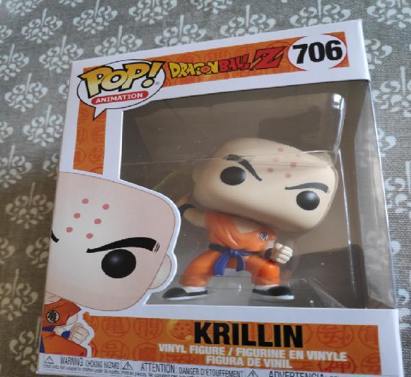 Figura funko pop krillin dragon ball z nuevo