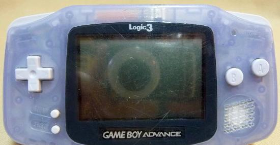Game boy advance, gameboy, color lila transparente,
