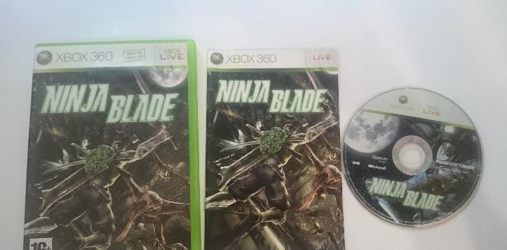 Juego completo ninja blade pal microsoft xbox 360 españa