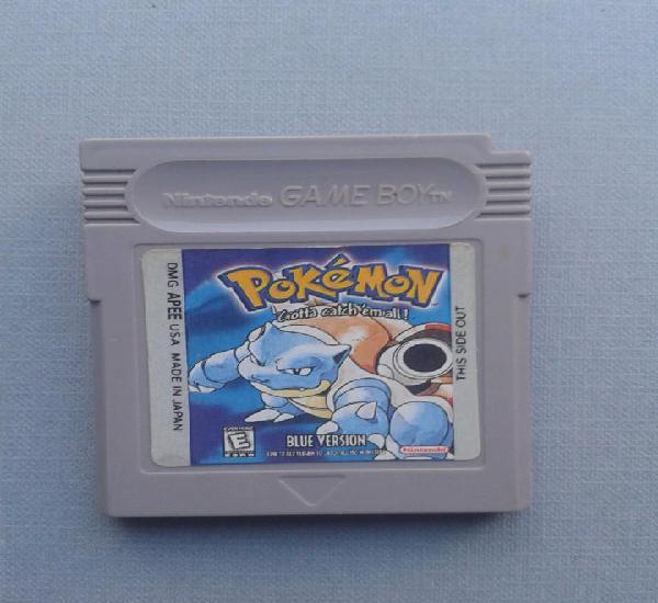 Juego nintendo gameboy pokemon azul blue version solo