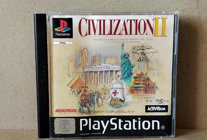 Juego videojuego playstation ps1 - psx pal - civilization ii