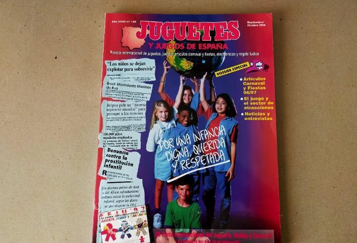 Juguetes y juegos de españa nº 139 septiembre/octubre 1996