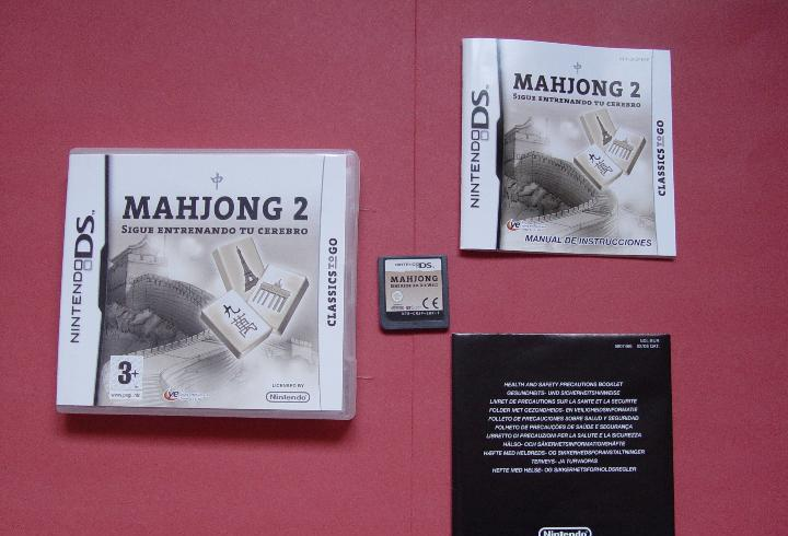Juego nintendo ds (mahjong 2) ¡original! ¡completo!
