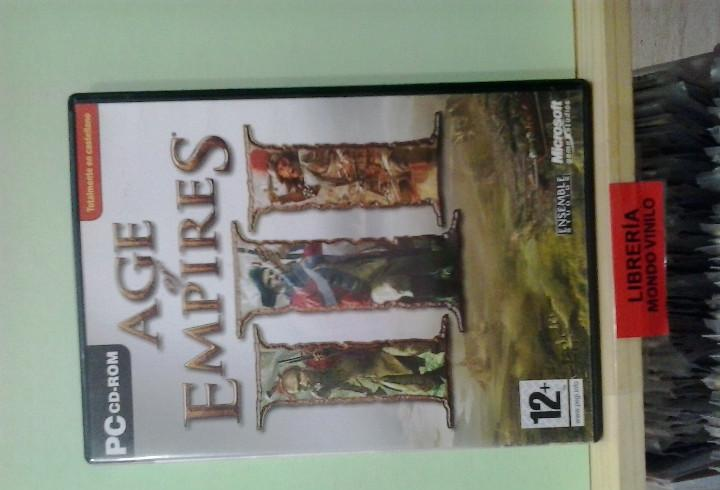 Lmv - age of empires iii -- juego pc, cd-rom