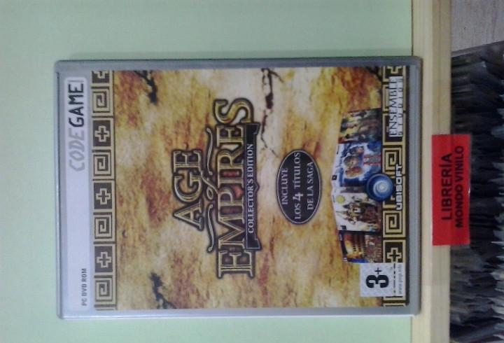 Lmv - age of empires, collector's edition -- juego pc,
