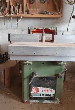 Maquinaría de carpintería
