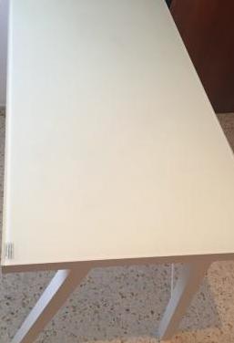 Mesa de escritorio - cristal templado 1,20 x 0,60