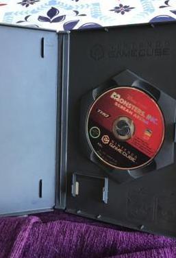 Monstruos s.a gamecube