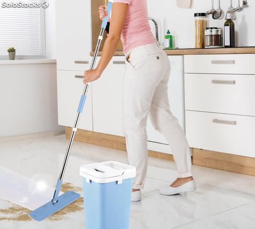 Mopa magica autolimpiante que permite el lavado y secado