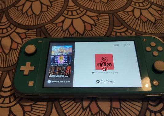 Nintendo switch litte fifa 20