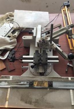 Pantografo maquina para grabar joyeria