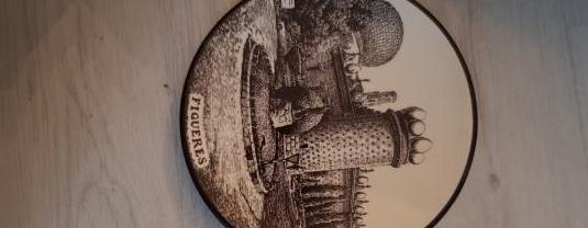 Plato de cerámica derplat
