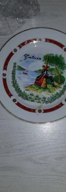 Plato decorativo de galicia
