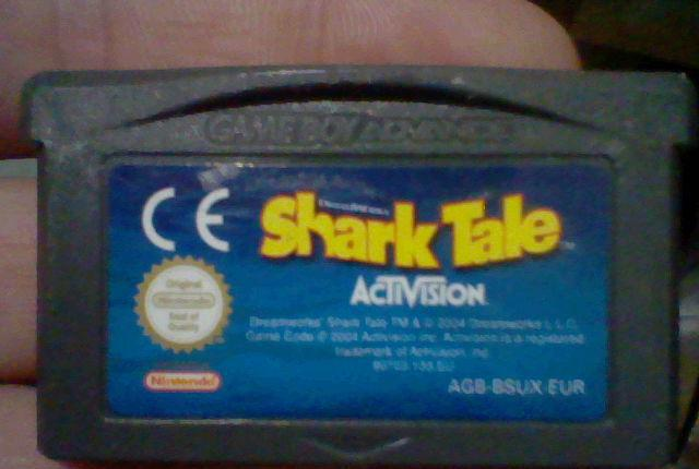Shark tale gba gameboy game boy advance cartucho funcionando