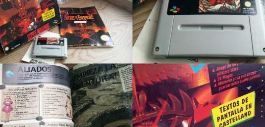 Super ufo pro 8, 5 juegos (secret of evermore...)