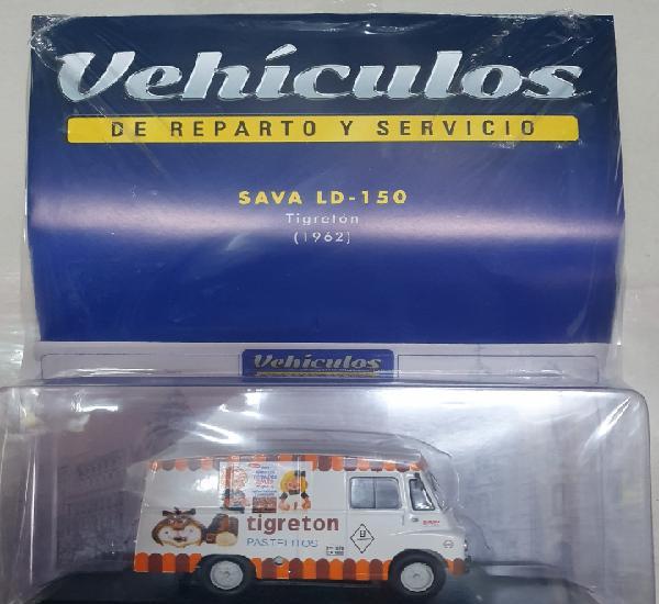 Vehiculos de reparto. sava ld -150 tigreton. 1962