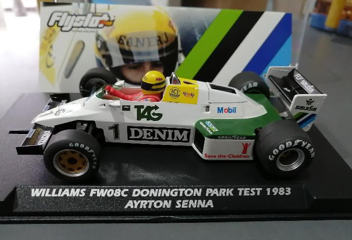 Williams fw08c de ayrton senna de flyslot