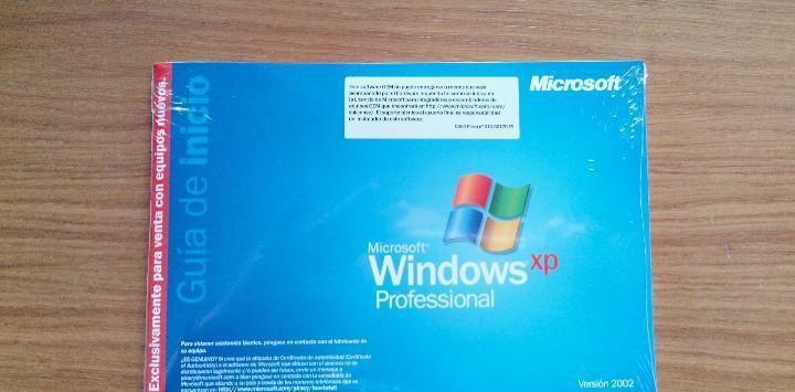 Windows xp professional oem 2002