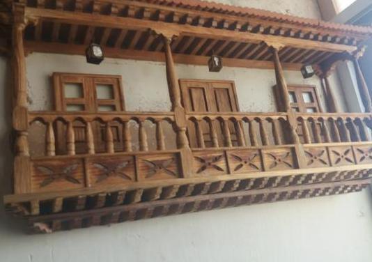 Balcon canario antiguo